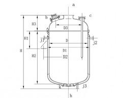 湖南搪玻璃蒸馏罐